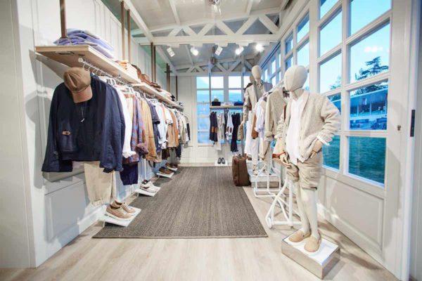 Instalación en local de sector textil